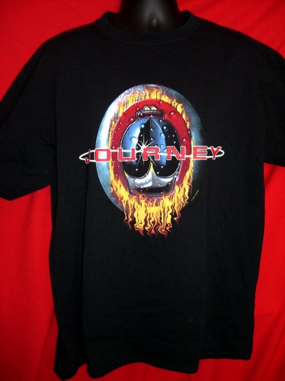 "JOURNEY 1999 CONCERT TOUR XL T-SHIRT from SUMMER OF 1999 ""VACATION'S OVER"""