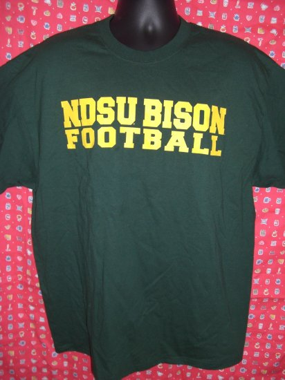 NDSU Bison Football XL T-Shirt North Dakota State University