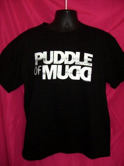 SOLD! Vintage Puddle of Mudd Concert Tour Large T-Shirt 2001 Kanasa City Mo Post-Grunge Band
