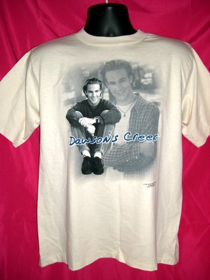 SOLD! Rare New 1998 Dawson Creek T-Shirt New With Tag ~ Dawson Leery ~ James Van Der Beek