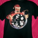 Famous Psycho Kissmas Christmas  KISS Medium T Shirt