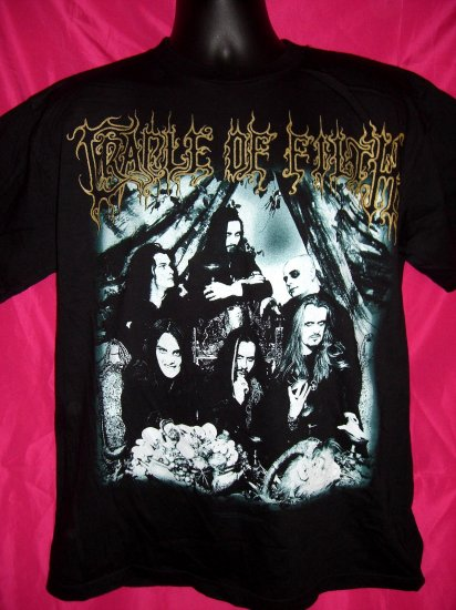 SOLD!  Rare CRADLE OF FILTH FUNERAL in CARPATHIA Large T-Shirt