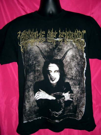 SOLD! Rare Cradle of Filth Medium or Large T-Shirt The WALL-EYED, VAIN & INSANE
