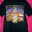 Rock and Roll Hall of Fame XL Black T-Shirt Guitar Perfect T-Shirt for a Musician!