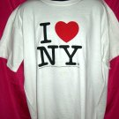 Classic I LOVE NY XL or XXL White T-Shirt (I HEART NEW YORK) 1996