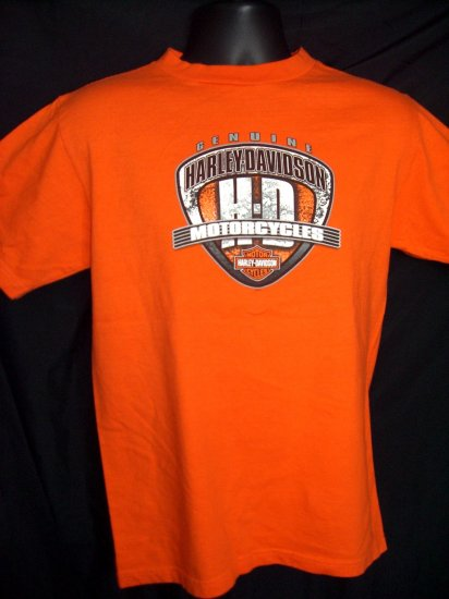 RARE Harley Davidson Small T-Shirt KUWAIT CITY 2004  Middle East ~ Arab