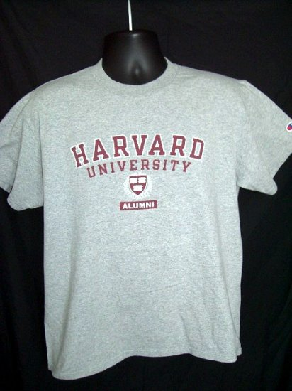 SOLD! HARVARD University ALUMNI Large T-Shirt