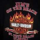 Harley Davidson Large or XL T-Shirt 2004 St Pete Beach Florida Dealer