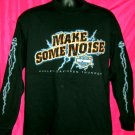 Harley Davidson Thunder Long Sleeve Large T-Shirt ~ Make Some Noise ~ 2002 Grand Canyon Arizona