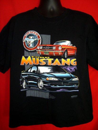 Ford Mustang Black XL T-Shirt Artist:  Dave England