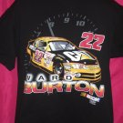 NASCAR Ward Burton Large / XL Black T-Shirt #22 Race Car