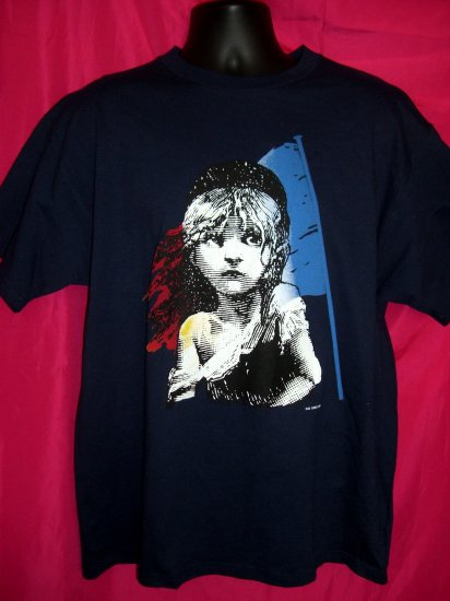 SOLD! Les Miserables T-Shirt  Theater Theatre