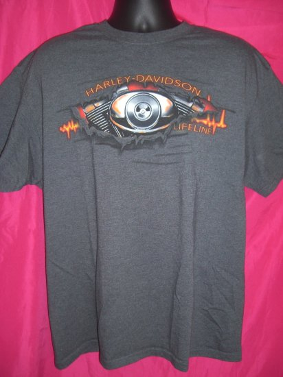 Harley Davidson T-Shirt  Dealer ~ Twin Cities Minnesota MN  LARGE or XL