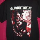 Rare Large / XL T-Shirt NEUROTIC DECAY Goth Metal Band