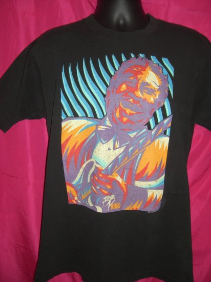 SOLD!  Rare Vintage 1993 BB King Blues Music Festival Medium T-Shirt