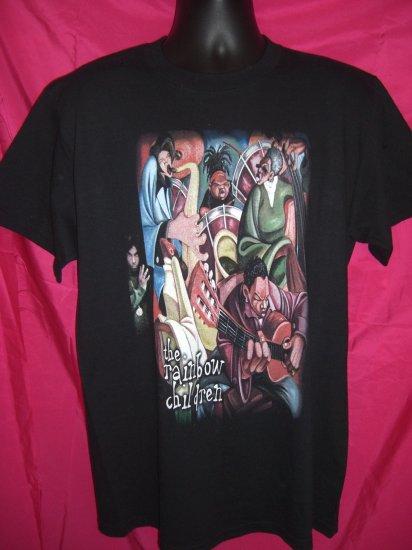 "RARE ""The Artist"" PRINCE Large T-Shirt  ~ The Rainbow Children ~ 2001 Promo Shirt"