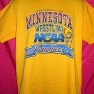 University of Minnesota U of M Large T-Shirt  WRESTLING NCAA  2002 Champions Golden Gophers