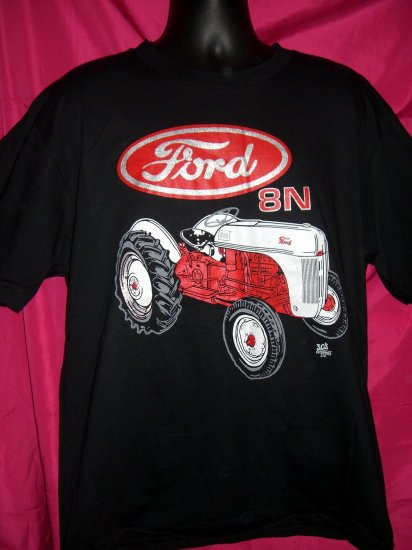 SOLD! Hard to find  FORD TRACTOR  Model 8N XL Black T-Shirt