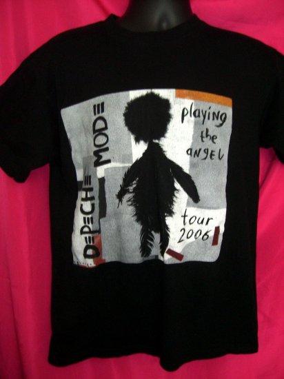 Rare Depeche Mode Shirts Playing The Angel Europe Concert Tour Medium or Large T-Shirt 2006