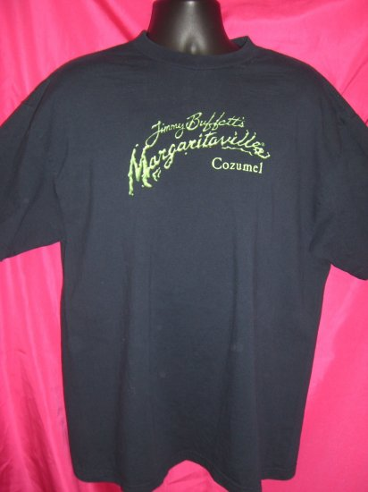 SOLD!  Jimmy Buffett Margaritaville Cozumel Mexico  Large or XL T-Shirt