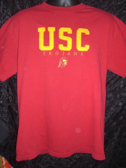 Retro Style Unique USC Trojans Medium or Large T-Shirt University of Southern California