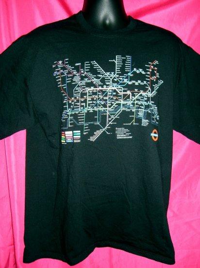 MIND THE GAP Large/XL T-Shirt London Subway