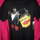 Rare Elwood Brand Black Large T-Shirt with Mr T ~  D.C. Taxi (Cab)