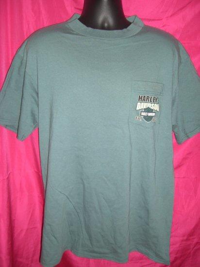 HD Clinton Iowa Ross Harley Davidson Dealer 1999 ~ Size XL T-Shirt