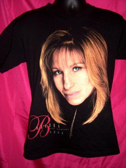 "SOLD! Barbra Streisand ""1994 The Concert""  Black Small or Medium T-Shirt"