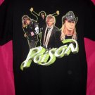 POISON Concert Tour Large Black T-Shirt 2007