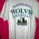 "Minnesota Timberwolves XL T-Shirt ""The Wolves"" Basketball"