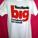 "Rare 1988 Promotional Small T-Shirt Movie ""BIG"" Tom Hanks"
