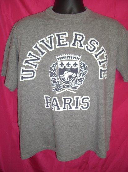 SOLD! Universite Paris Thin Large T-Shirt ~ University of Paris France