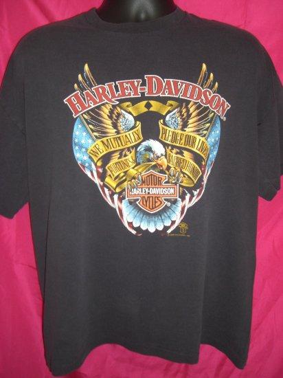 SOLD! Vintage 1988  Harley Davidson Size Large or XL T-Shirt Hawaii Maui
