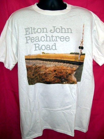 SOLD! Elton John Concert Tour ~ Peach Tree Road Large T-Shirt.