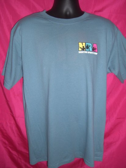 NRA Nationa Rifle Large T-Shirt ~ Shooting Sports Camp