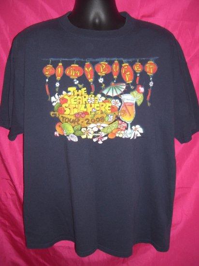 SOLD! Jimmy Buffett The Year of Still Here Tour 2008 XL T-Shirt