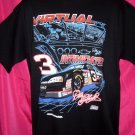 Vintage NASCAR DALE EARNHARDT XL T-Shirt #3 VIRTUAL  INTIMIDATOR