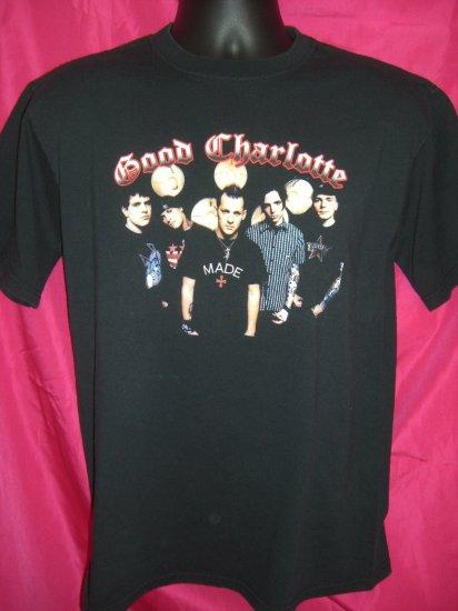 SOLD! GOOD CHARLOTTE Young & Hopeless Tour ~ Size MEDIUM T-Shirt