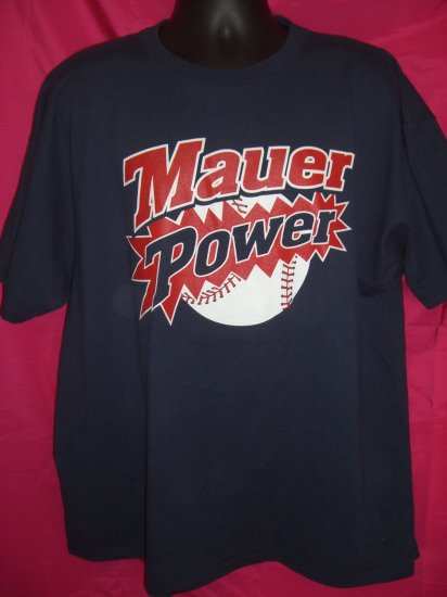 Joe Mauer Minnesota Twins XL T-Shirt #7