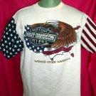 Rare 1995 Harley Davidson Size XL T-Shirt Eagle USA