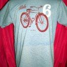 Bicycle Medium / Large Blue  T-Shirt RIDE  ~ Retro Bike