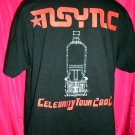 2002 NSYNC Celebrity Tour Large or XL T-Shirt Local Crew