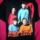 Vintage 1995 STAR TREK XL T-Shirt Crew Kirk Spock Uhura McCoy