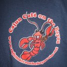 Cajun Cafe XXL 2XL T-Shirt Pinellas Park Florida Restaurant