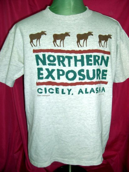 SOLD! Rare NORTHERN EXPOSURE Size Large T-Shirt Vintage 1991
