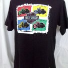 Ladies Harley Davidson Size Large Black T-Shirt