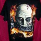 Vintage1996 Darth Vader T-Shirt UNIQUE Face ~ Size Large/XL Star Wars