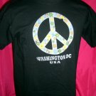 Washington DC PEACE T-Shirt Size MEDIUM