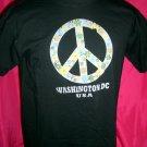 Washington DC PEACE T-Shirt Size MEDIUM